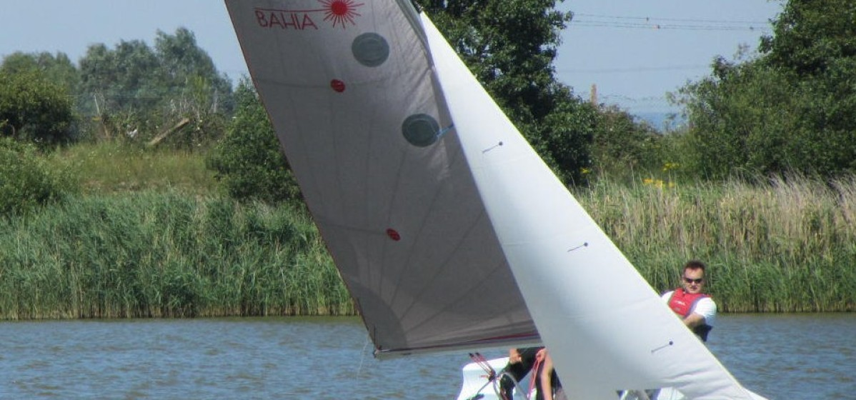 Sailing at Rye Watersports