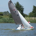 Sailing at Rye Watersports