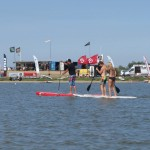 Learn how to Paddleboard on the lake at Rye Watersports