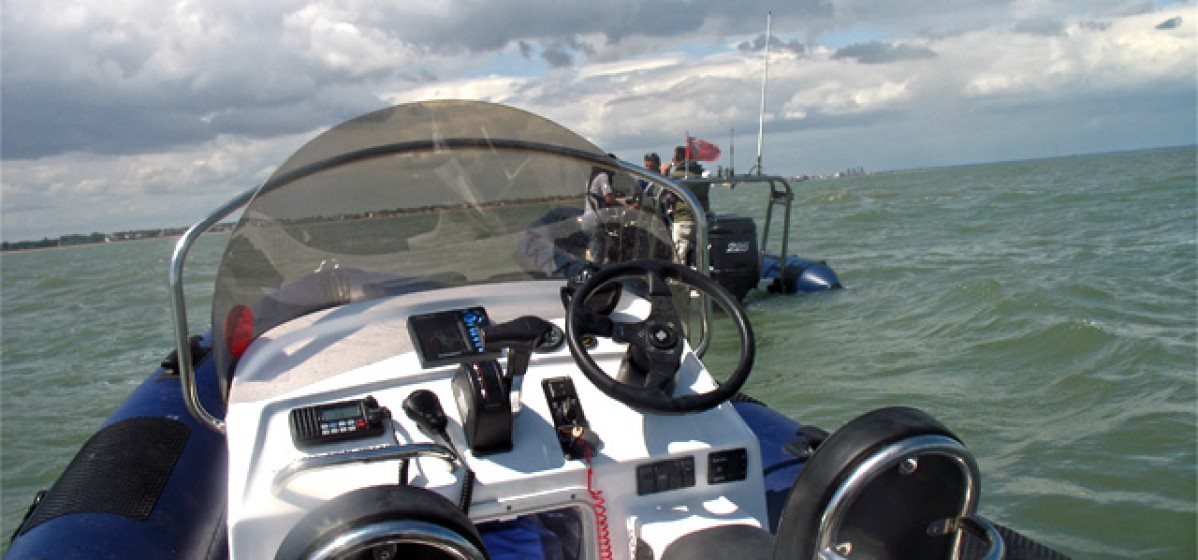 Rib Charters from Kites on Board