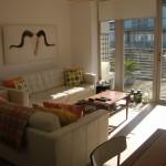 Sitting room at Rye Bay Beach House